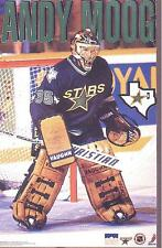 Andy Moog DALLAS STARS Original Starline Poster MINI Promo Piece 3x5