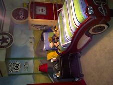 Boy's Bedroom Car Bed & Gas Pump Dresser