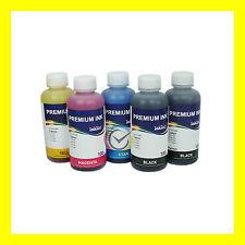 Set di 5 inchiostri pigmentati InkTec per Canon Pixma MG5350
