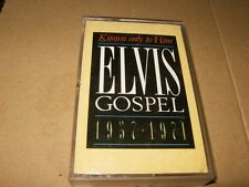 Known only to Him Elvis Gospel 1957-1971 Cassette,Plays Fine..