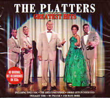 THE PLATTERS - GREATEST HITS - 39 ORIGINAL HITS NEW 2CD