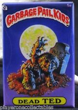 "Garbage Pail Kids Dead Ted 2"" X 3"" Fridge / Locker Magnet. Zombie"