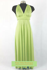 Multi Way Wrap Lond Dress,ONE SIZE FITS ALL, Convertible infinity, Bridesmaid
