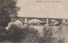 SLOVENIA Slowenien Maribor/ Marburg an der Drau - Bahnbrücke  über die Drau 1915