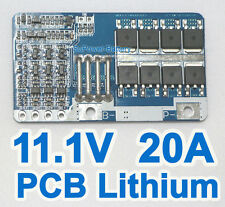PCB 10.8V 11.1V 12V 20A 3S Li-ion Lithium Battery Input Ouput Protection Board