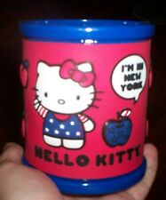 *~New Sanrio Hello Kitty NYC Souvenir Collectible Mug 2012 (Plastic)