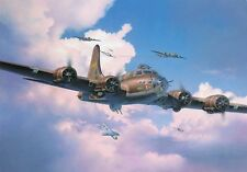 "REVELL 04297 b-17f ""Memphis Belle"" AEREI IN PLASTICA SCALA kit1/48 GRATIS t48 POST"