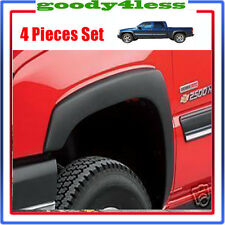 99-06 Chevy Silverado Sierra Matt Black Smooth Fender Flares Set of 4PC OE Style