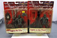 LOTR 2 Figure Pack Ugluk On The Hunt and Ugluk At War Middle Earth Toys New 1998