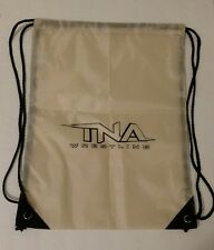 "Impact Wrestling Brown Drawstring Bag BRAND NEW TNA WWE backpack 18"" x 13"""