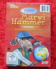 Englisch entdecken mit Marvi Hämmer National Geographic World, DVD Box 2, Neu