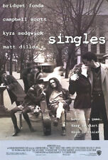 SINGLES (1992) ORIGINAL MOVIE POSTER  -  ROLLED  -  DOUBLE-SIDED