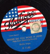 Kalliope American Record : Where do you worlk a John - Ed Smalle