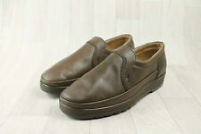 Men's Vintage Original Dr Maertens DM Panda Taupe Leather Shoes Size UK 6