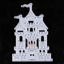 Castle Design Die Cutting Dies Stencils DIY Scrapbooking Embossing Paper Crafts