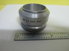 MICROSCOPE PART STEREO OBJECTIVE 2/3X AO CAT 267 AMERICAN OPTICS AS IS BIN#U4-01