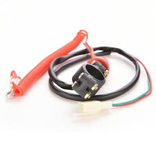 Motorcycle Motor QUAD bike Engine Stop Tether Lanyard Closed Kill Switch Safety.