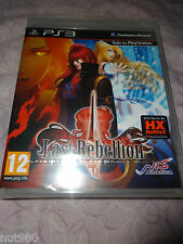 LAST REBELLION PS3 NUOVO EDIZIONE ITALIANA PlayStation 3 Play Station