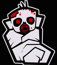 Bloody Little Zombie Baby Walking Dead Family Vinyl Decal Sticker