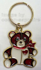 TEDDY BEAR  Key Ring Keychain Key Chain NEW Great gift