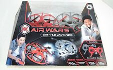 Air Wars BATTLE DRONES 2-Pack  Remote Control 2.4 GHz- NEW   -  REDUCED!!!