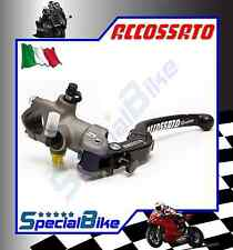 ACCOSSATO 19 X 20 BRAKE RADIAL MASTER CYLINDER WITH FOLDING LEVER FORGED