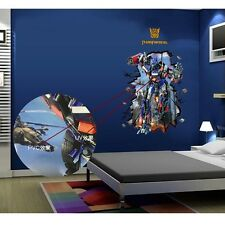 3D Large Transformers Removable Wall Stickers Kids Wall Decal Art Optimus Prime
