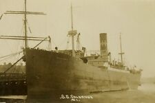 SALDANHA was WW1 Australian Troopship A12 Modern Digital Postcard