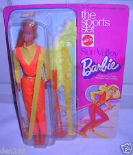 #6530 NRFC Vintage Mattel the Sports Set Sun Valley Barbie Doll