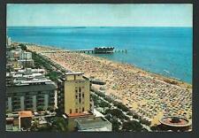 Lignano Sabbiadoro (Udine ) : La spiaggia -  cartolina viaggiata nel 1975