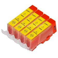 4 CANON Patronen mit Chip CLI-521 Y MP 620 MP 630 MP 640 MX 870 NEU