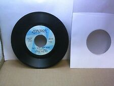 Old 45 RPM Record - London LON-139 - Poppy Family - What's Where I Went Wrong