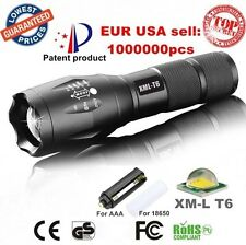 Alonefire XM-L T6 led 2000Lumens Zoomable Flashlight Torch lights- NO. 1 QUALITY