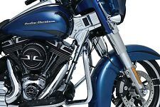 Kuryakyn 6955 Deluxe Chrome Neck Cover Set Harley Dresser 2014-2016