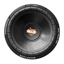 "Single 15"" inch 4 ohm Dual Voice Coil Car Audio Woofer Subwoofer Bass Speaker"