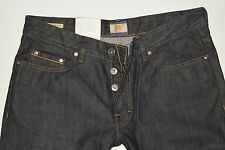 Nuevo-Hugo Boss-w33 l34-Orange 25-Pure Denim-regular Jeans - 33/34