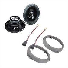 Lautsprecher passend für Opel Astra G 165mm inkl. Aufnahme + Adapterkabel vorne