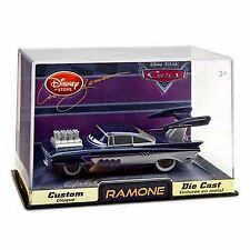 Disney Store Cars 2 Die Cast Collector Case Ramone Custom Hot Rod Artist NEW