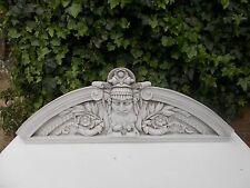 Very Large Ornate over door / wall Pediment