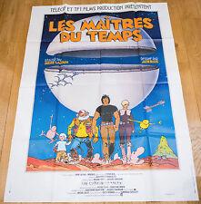 Affiche de cinéma : LES MAITRES DU TEMPS de RENE LALOUX - MOEBIUS
