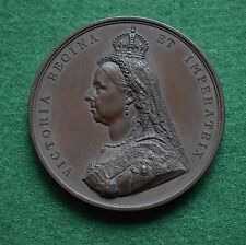 Queen Victoria Golden Jubilee Official Bronze Medal 1887, by Boehm and Leighton.