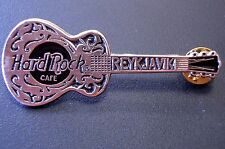 HRC Hard Rock Cafe Reykjavik Silver Dobro Guitar Made By Thorcraft