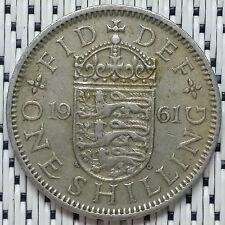 GREAT BRITAIN - 1961 - 1 Shilling Elizabeth II #CAMV