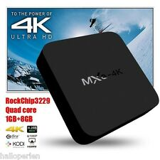 RK3229 Android TV Box Quad Core Android 5.1 DDR3 1G HDMI 2.0 WIFI 4K Black