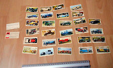 Black Cat Vintage cars 28 out of 50 Cards not a complete set