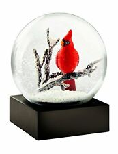 Red Cardinal Bird Snow Globe by CoolsnowGlobes, New, Free Shipping