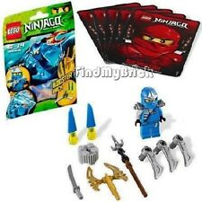 Lego Ninjago Ninja Jay ZX Minifigure Armor & Weapons ( 28pcs ) 9553 NEW