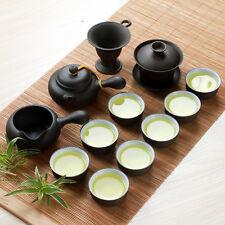 13pcs Chinese tea set yixing zisha tea pot gaiwan tea cup kung fu tea set lotus