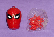 vintage Lakeside spiderman SPIDER-MAN HEROHEADS GAME pendant