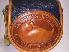 *R150*Dooney & Bourke* AWL *DUCK Cross Body Bag*NAVY / BT TRIM#16308V